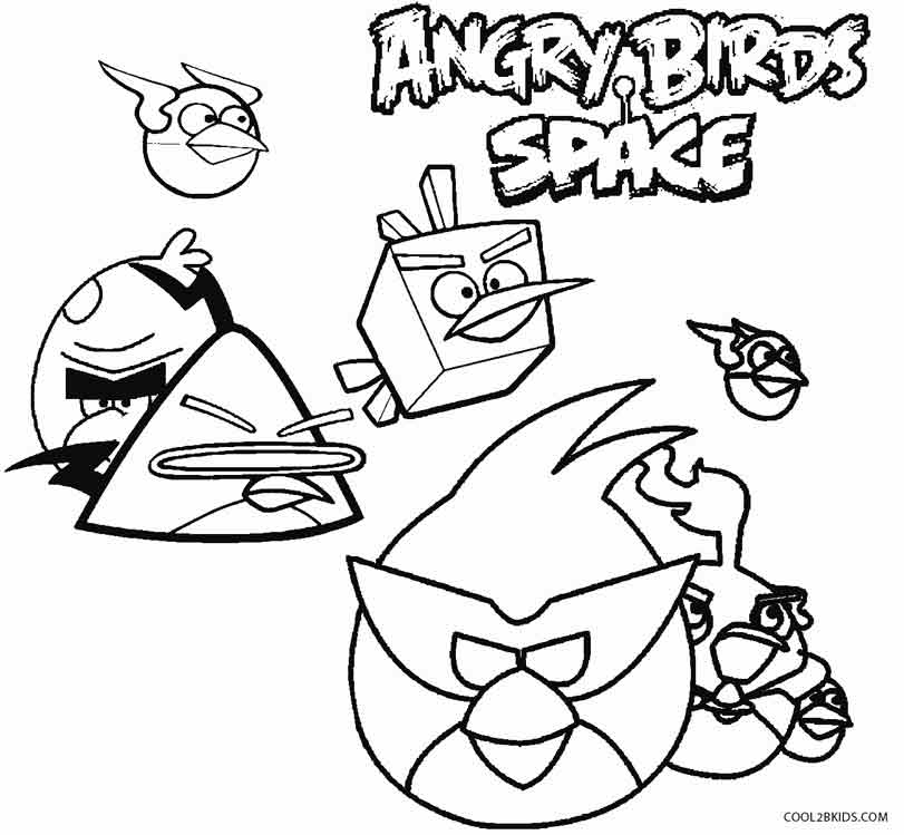 811x749 Free Angry Birds Space Coloring Pages To Print Printable For