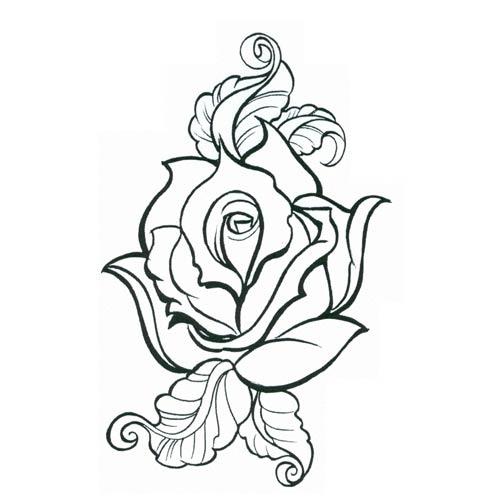 500x500 Linda Toos Share Free Tribal Rose Tattoo Designs