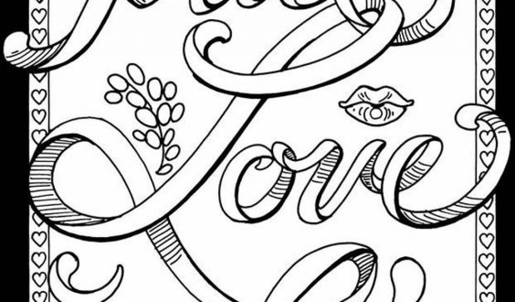 1024x600 Free Printable Coloring Pages For Adults Preschool To Cure Print