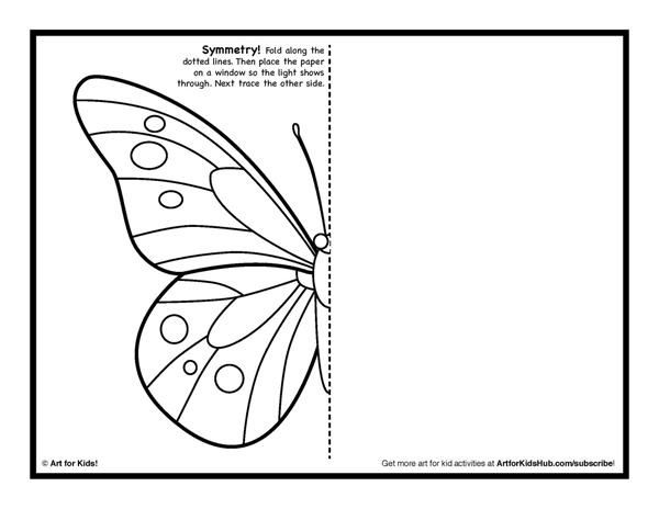 600x464 Symmetry Art Activity
