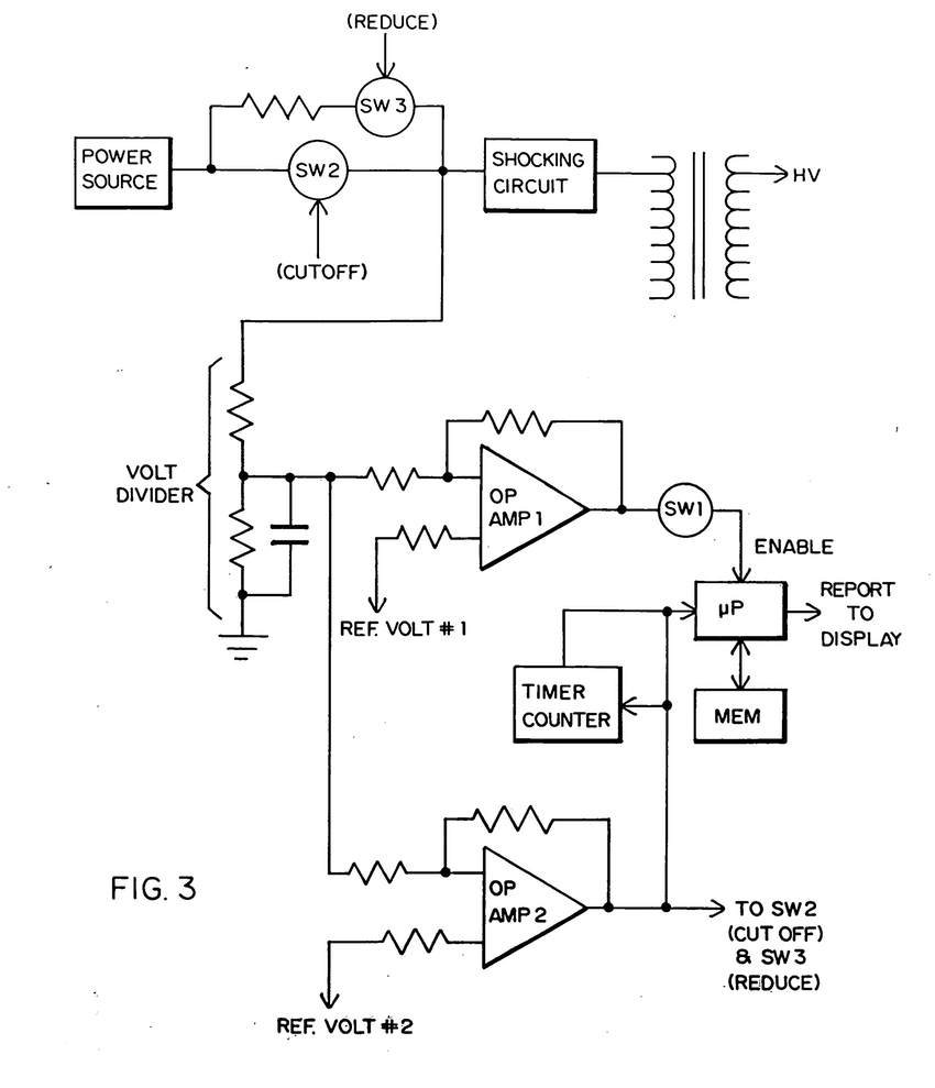 850x989 Patent Us7692915 Electric Shock Device Google Patents Drawing