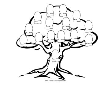 Free Family Tree Drawing