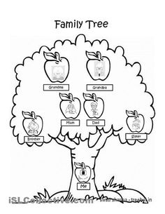 236x305 free pictures of family tree coloring pages colouring pages