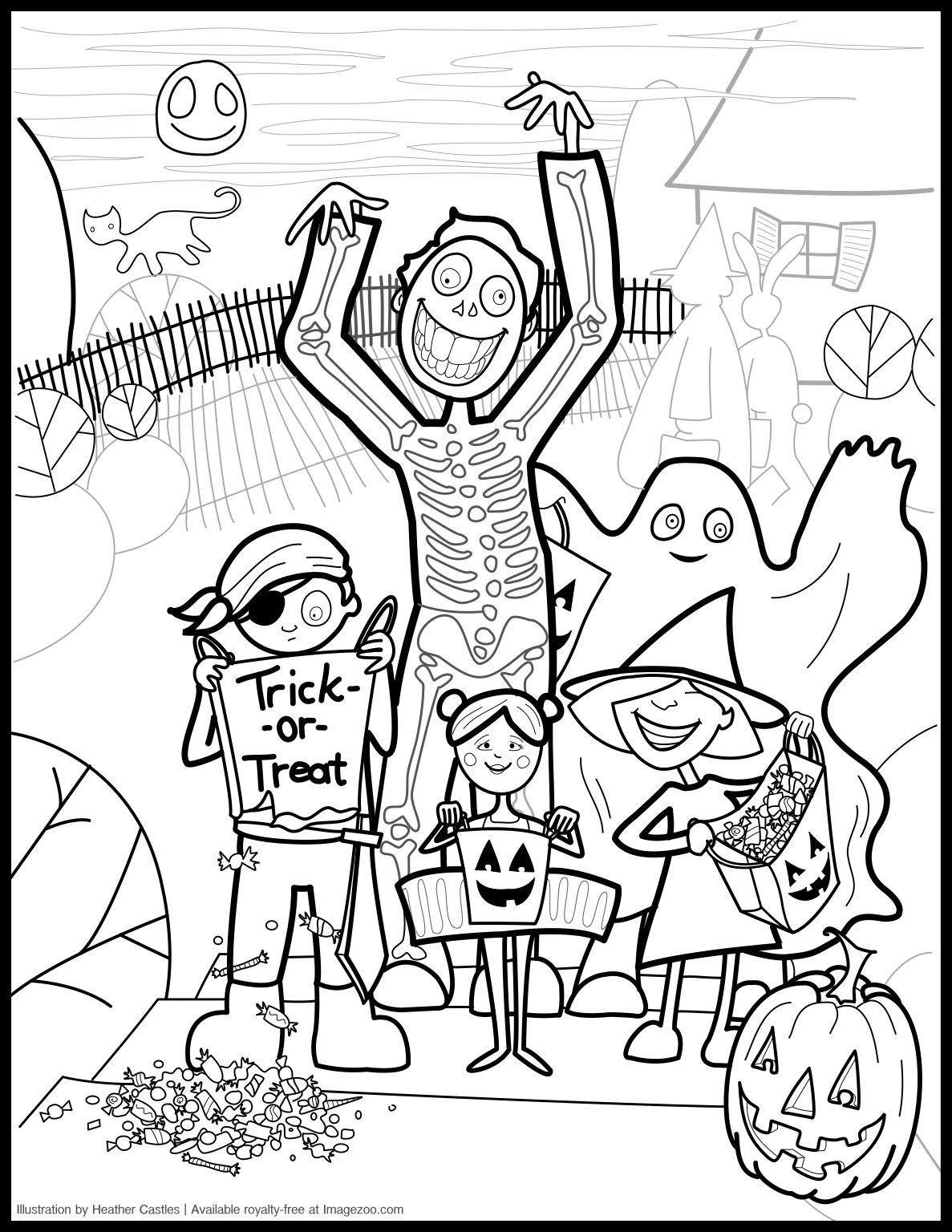 Free Halloween Drawing at GetDrawings.com | Free for personal use ...