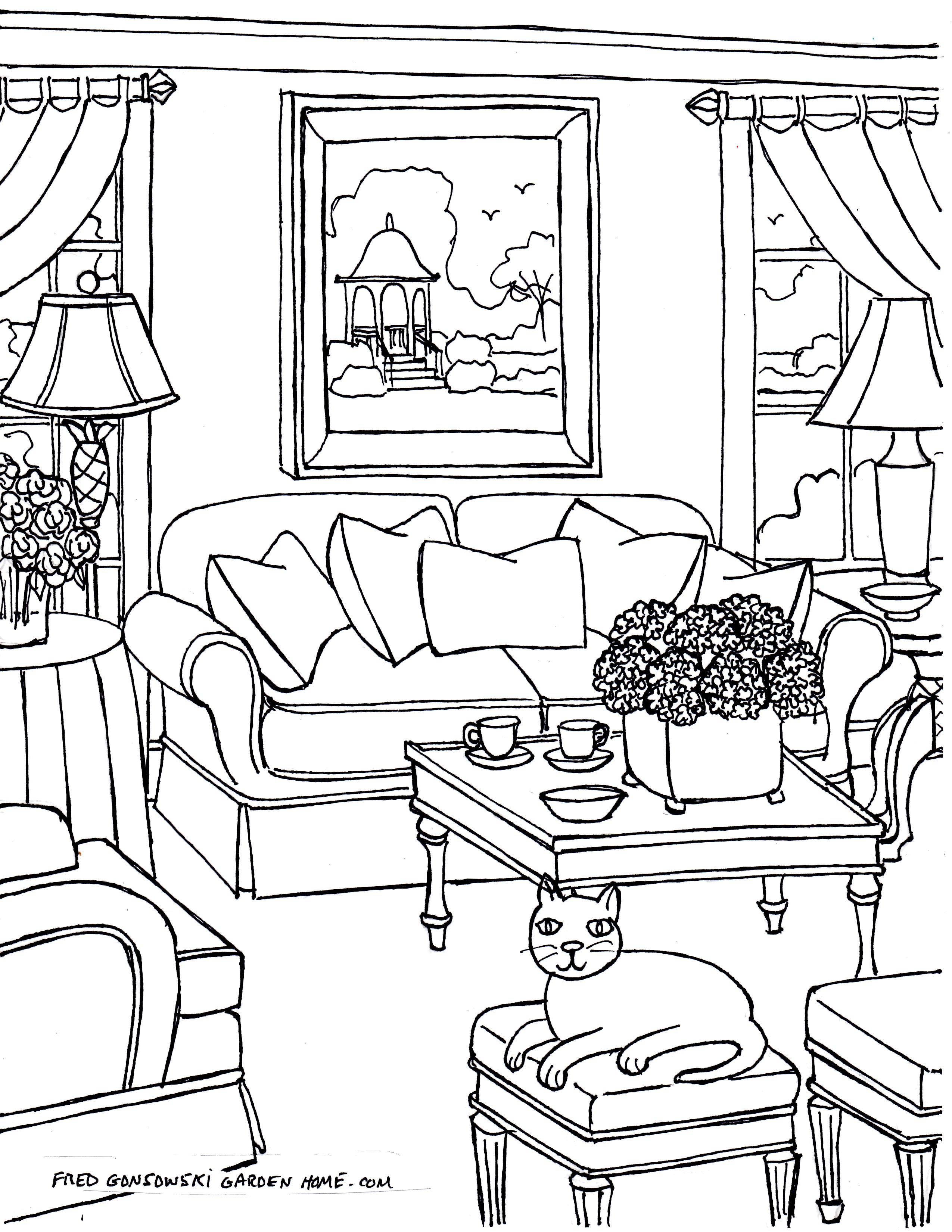 Free Home Drawing At GetDrawings
