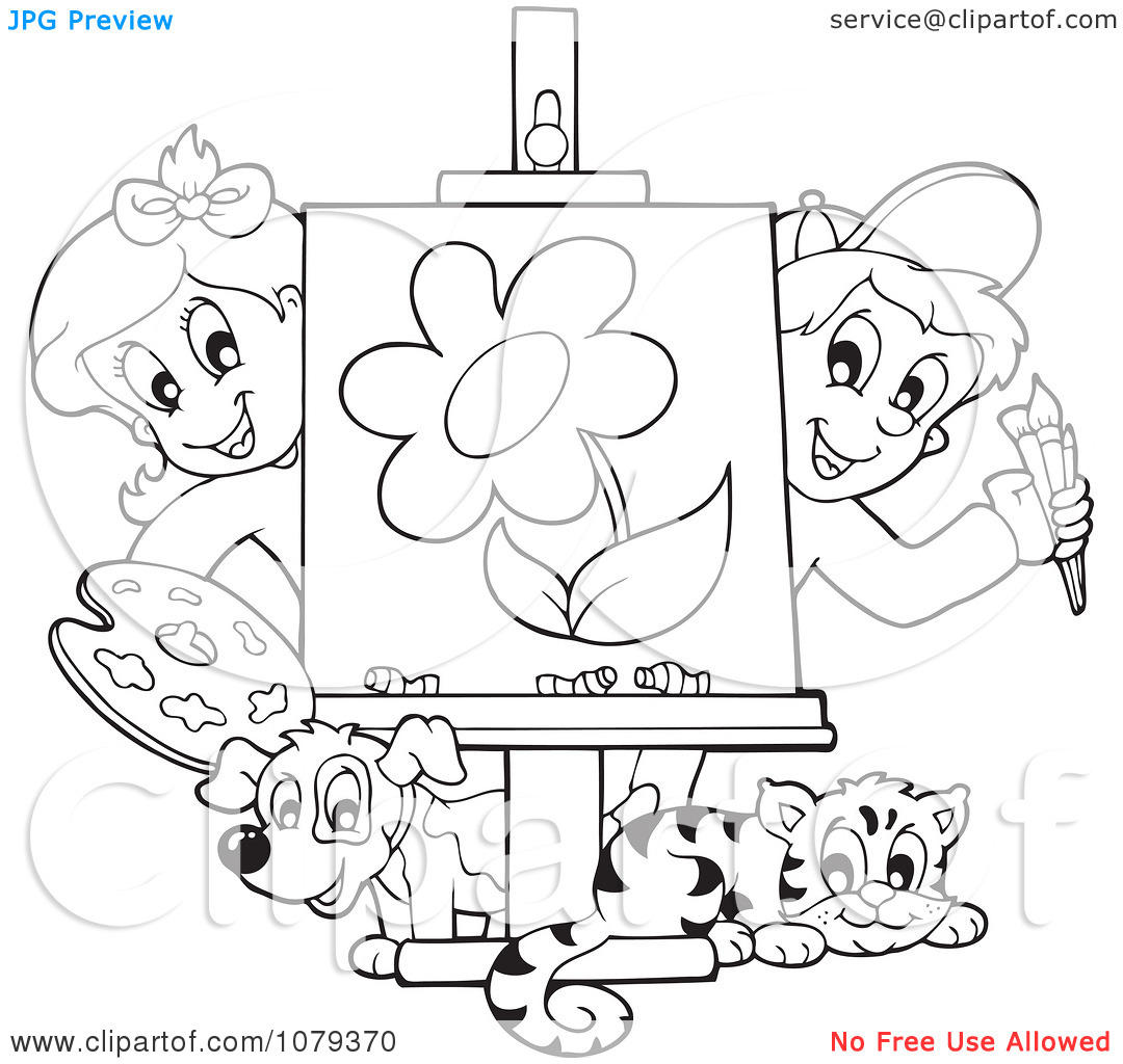 1080x1024 Free Coloring. Drawings To Paint For Kids