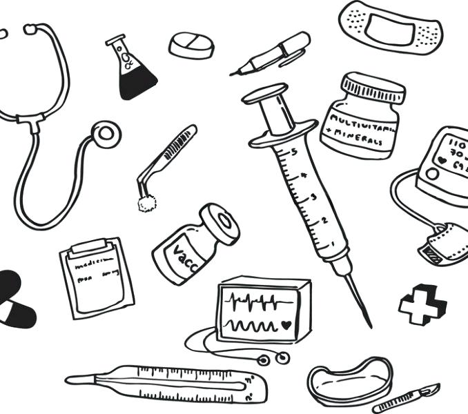678x600 Medical Coloring Pages Medical Coloring Pages Coloring Pages Kids