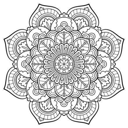 440x440 Adult Coloring Pages 9 Free Online Books Amp Printables