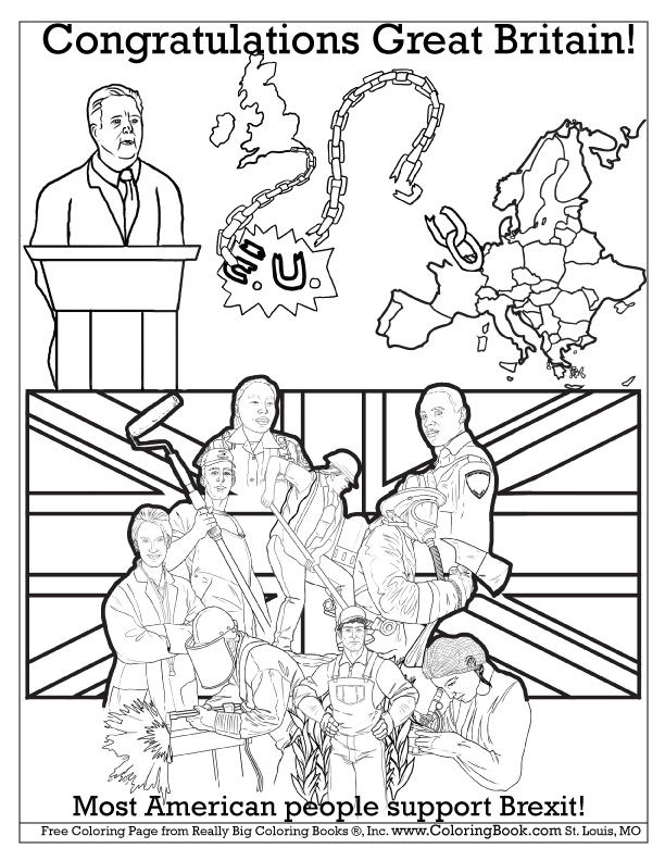 612x792 Coloring Books Congratulations Great Britain Free Brexit Online