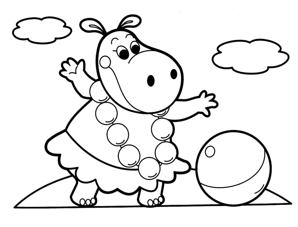 1008x768 Free Online Coloring Pages For Kids Animals Drawings Animal
