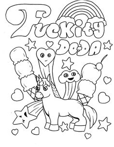 236x304 You May Download These Free Printable Swear Word Coloring Pages