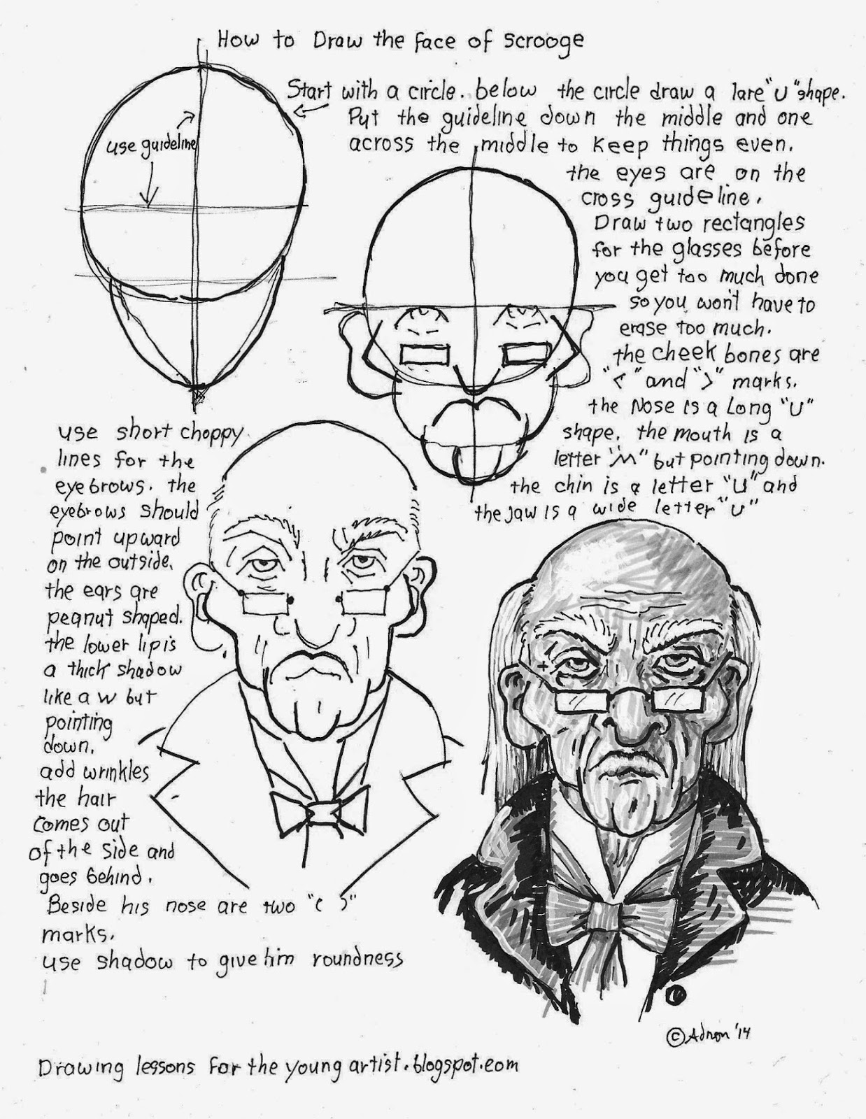 1238x1600 How To Draw Worksheets For The Young Artist How To Draw The Face