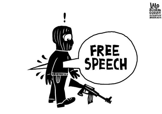 Freedom Of Speech Drawing