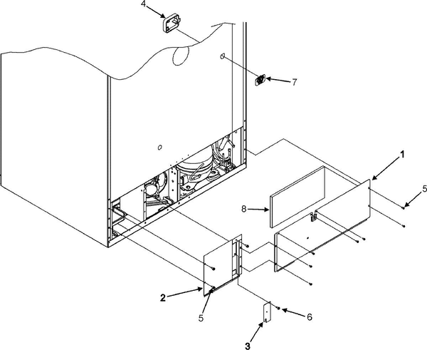 freezer drawing at getdrawings free for personal use freezer Cooler Parts Diagram 600x491 maytag g32026peks refrigerator with bottom freezer parts