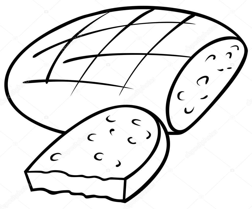1024x851 Loaf Of Bread Stock Vector Dero2010