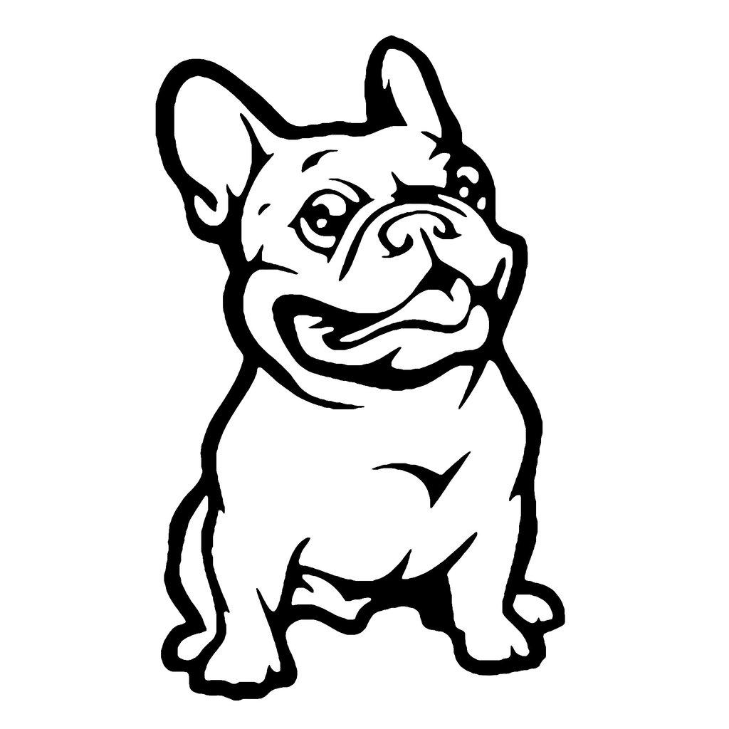 1024x1024 French Bulldog Dog Car Decal My Passion Street
