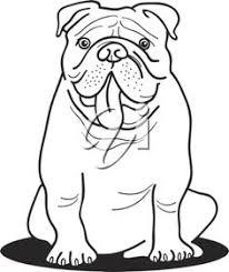 206x245 English Bulldog Coloring Pages English Bulldog Coloring Pages Free