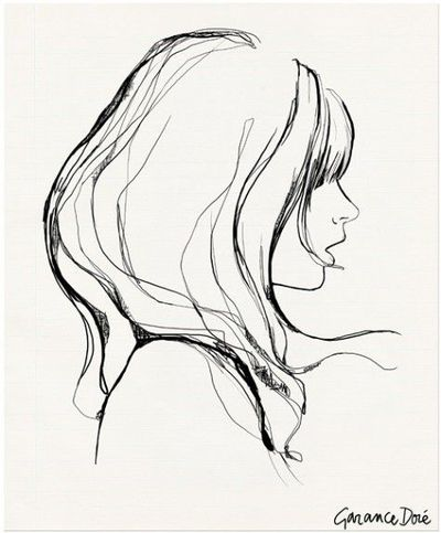 400x483 Girl With Bangs By Garance Dore.