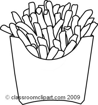 325x350 Unique Of French Fries Clipart Black And White Letters Format