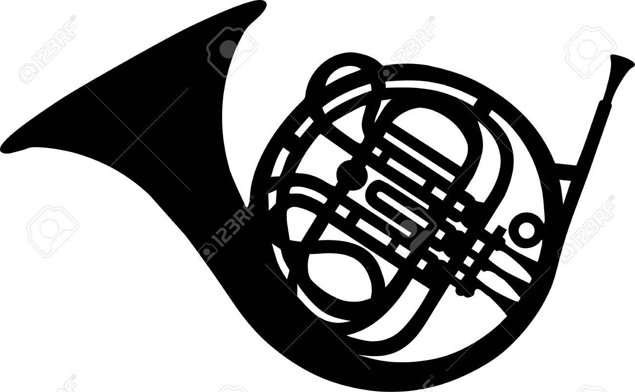 1300x802 French Horn Royalty Free Cliparts, Vectors, And Stock Illustration