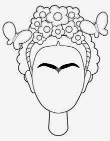 Frida Kahlo Drawing at GetDrawings.com | Free for personal ...