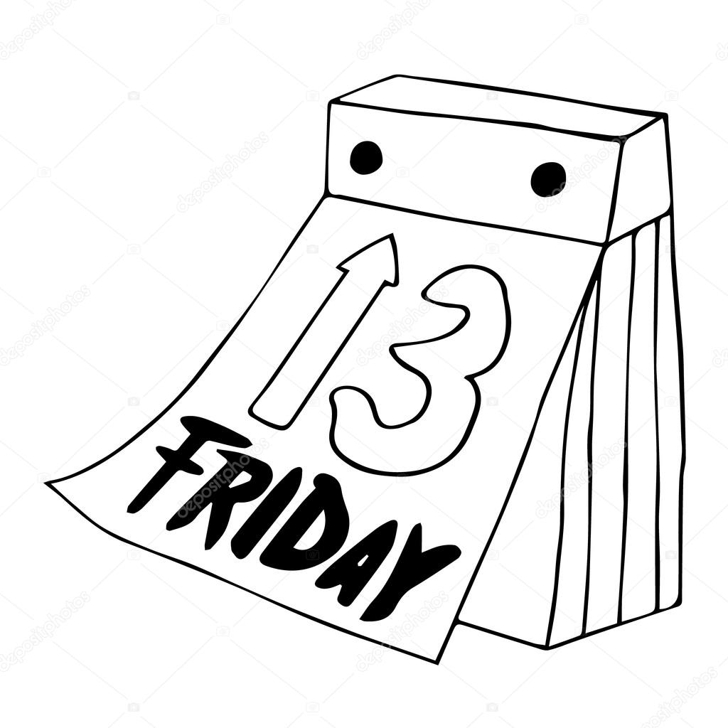 friday drawing at getdrawings com free for personal use friday rh getdrawings com friday the 13th clip art images friday the 13th clip art free