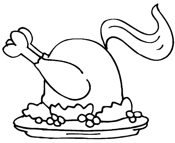 600x490 Buckets Fried Chicken Coloring Page Rice