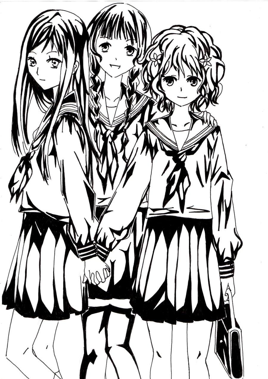 900x1272 Ohana Hansaku Iroha Friends Drawing Picture By Yamamotoikuto