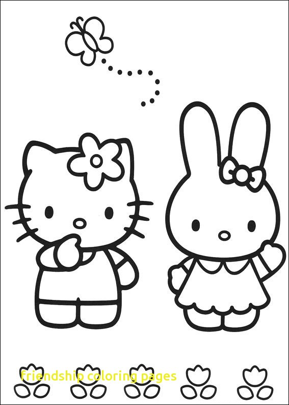 567x794 Friendship Coloring Pages With Friendship Day Five Friends