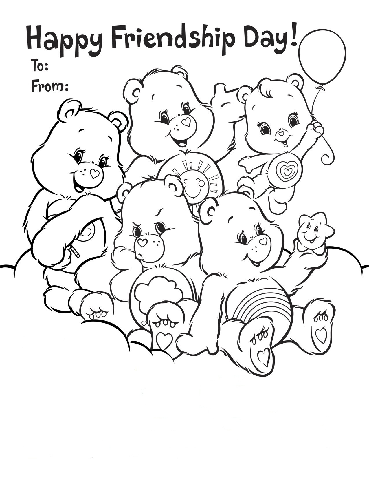 1275x1650 Friendship Coloring Page Awesome Friendship Colouring Pages Free