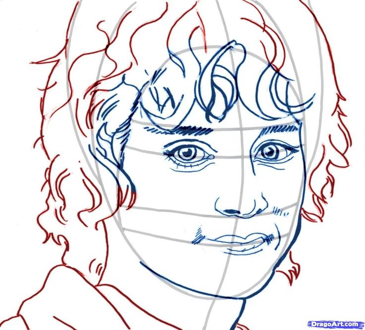 Frodo Drawing