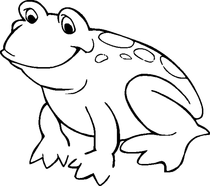 Frog Drawing For Kids at GetDrawings.com | Free for personal use ...