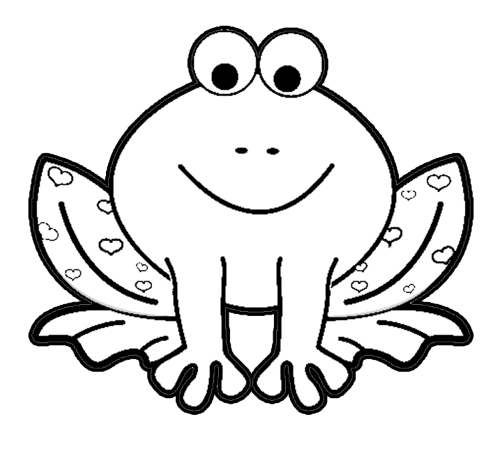 720x648 Awesome Frog Pictures To Color Best Coloring K