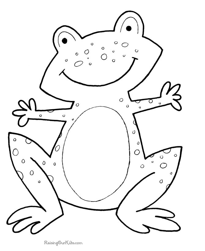 670x820 Coloring Pages Pretty Coloring Pages Draw A Frog For Kids Animal