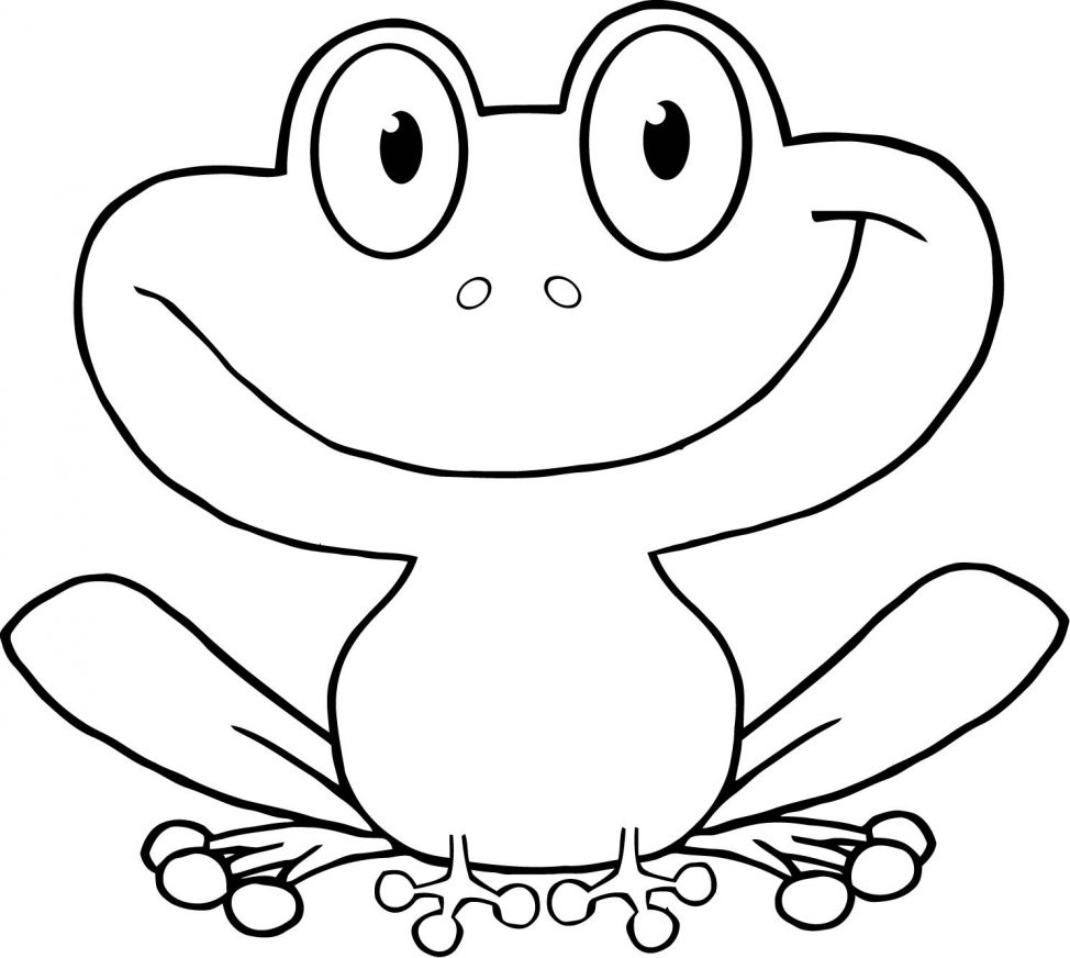 974x872 Frog Direct Drawing For Kids Tags Frog Drawing For Kids Easy
