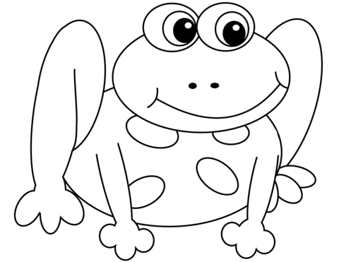 480x371 Cartoon Frog Coloring Page Free Printable Coloring Pages