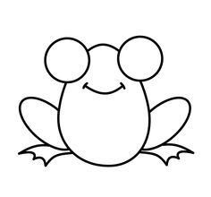 236x220 How To Draw A Frog In 4 Steps Frogs, Drawings And Doodles