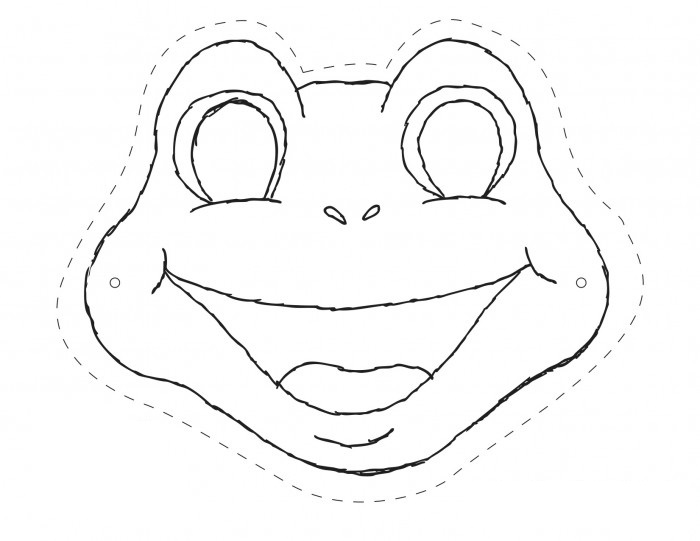 700x541 Cute Frog Face Template Gallery