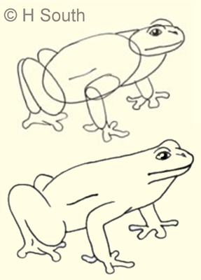 287x400 Draw A Cool Girl Cartoon With These Easy Steps Tree Frogs