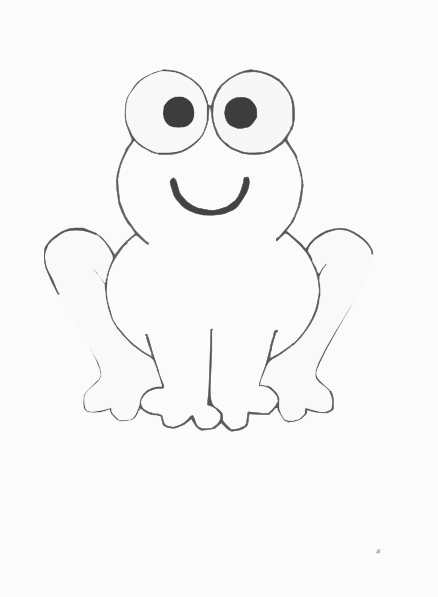 Frog Face Drawing at GetDrawings | Free download
