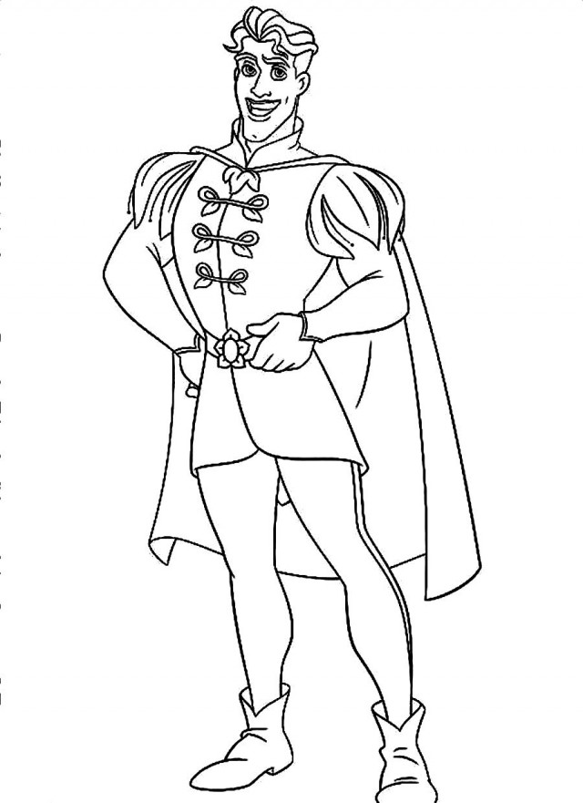 free frog prince coloring pages   Frog Prince Drawing at GetDrawings.com   Free for personal ...