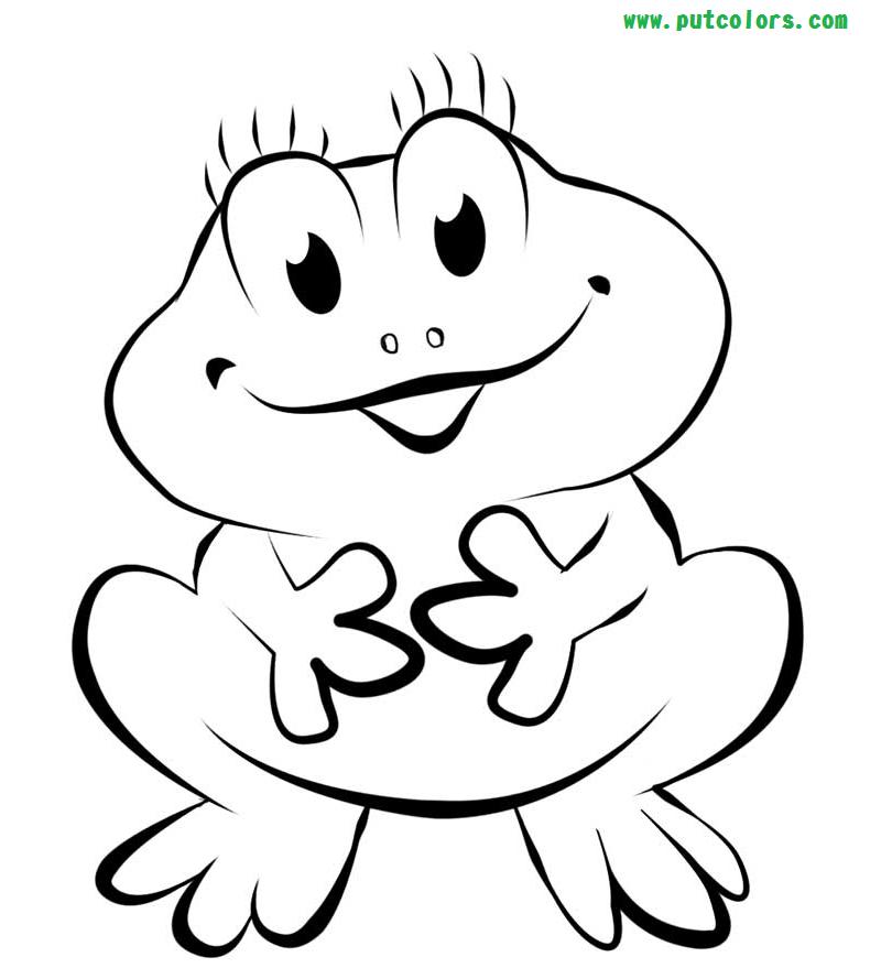 800x879 Wonderful Frog Coloring Pages Best KI
