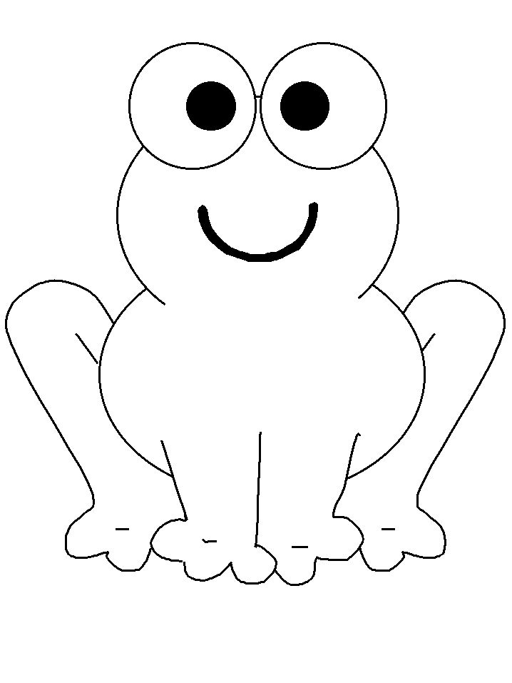 718x957 Frog Printable Coloring Pages