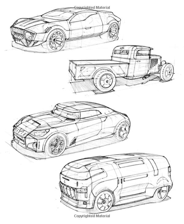 600x733 How To Draw Drawing And Sketching Objects And Environments