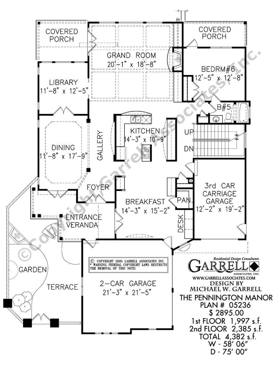 892x1200 Pennington Manor House Plan Country Farmhouse Southern