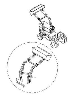 255x343 front end loader - Garden Tractor Front End Loader Kits