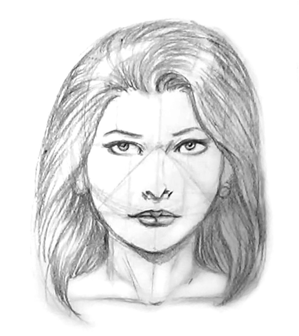 Front Face Drawing At Getdrawings Com Free For Personal Use Front