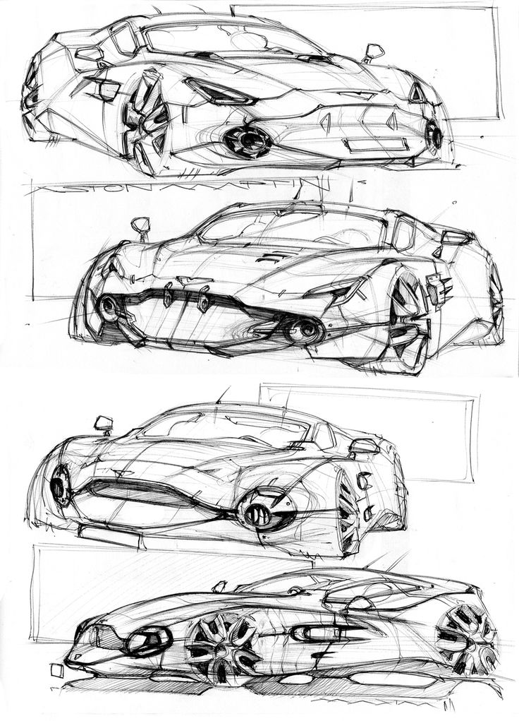 Front Of Car Drawing
