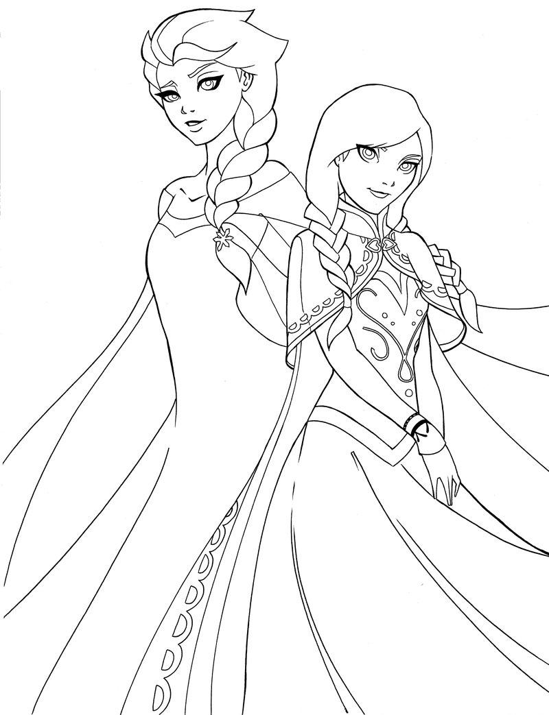 800x1043 Elsa And Anna By Shakav088