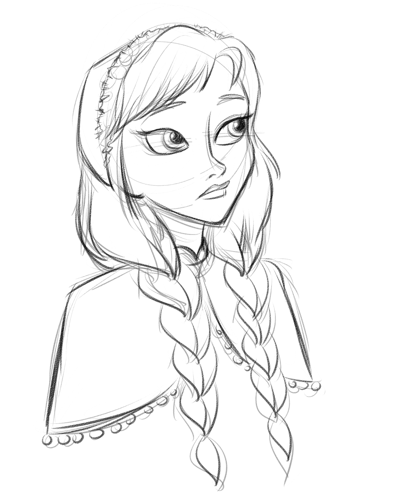 1280x1600 I Did A Doodle. Annamoredaringthangraceful Frozen